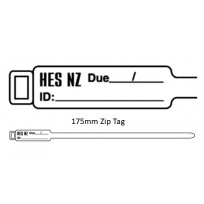 HES Zip Tag 175mm | Tags & Product Inspection
