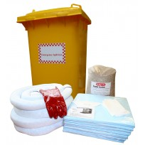 120L Chemical Spill Bin | Spill Kits