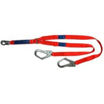 Spanset 1.8m Twin Web Lanyard c/w Scaff Hks | Spanset Attachments