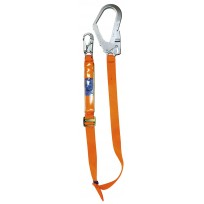 Spanset 1.8m Adjustable Web Lanyard c/w Scaff Hk | Spanset Attachments
