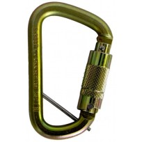 Carabiner - Steel Triple Action c/w Captive Eye | QSI Height Safety NZ