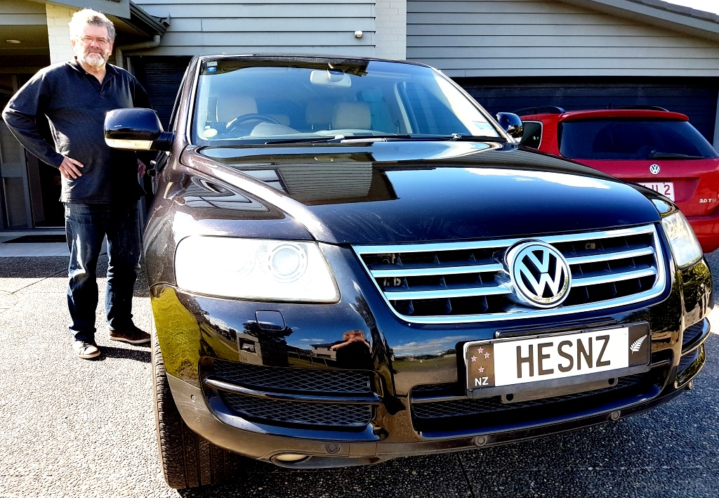 Mark VW Front